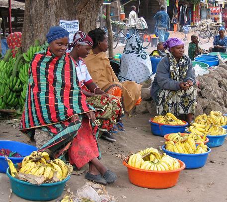 69 Women selling bananas