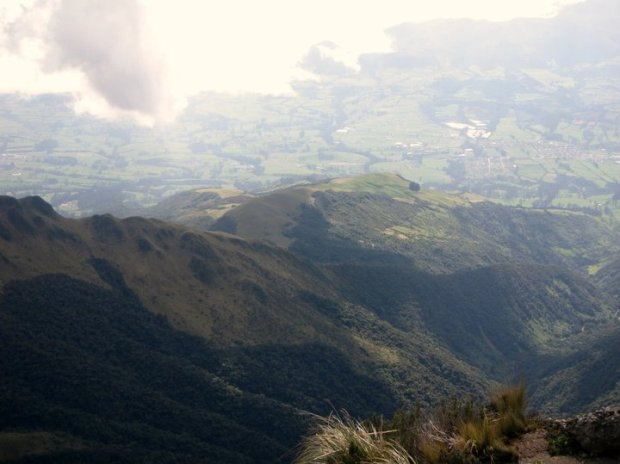Views from the summit of Pasachoa